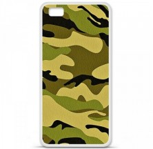 Coque en silicone Huawei P8 Lite - Camouflage
