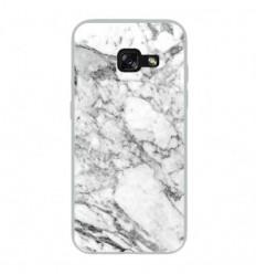 Coque en silicone Samsung Galaxy A5 2017 - Marbre Blanc