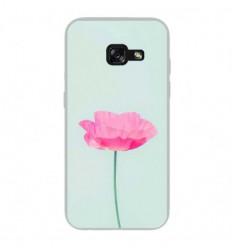 Coque en silicone Samsung Galaxy A5 2017 - Fleur Rose