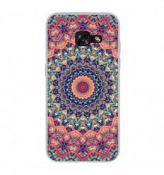 Coque en silicone Samsung Galaxy A5 2017 - Mandalla rose