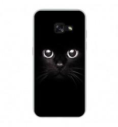 Coque en silicone Samsung Galaxy A5 2017 - Yeux de chat