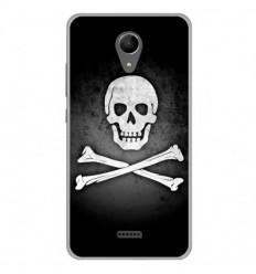 Coque en silicone Wiko Freddy - Drapeau Pirate