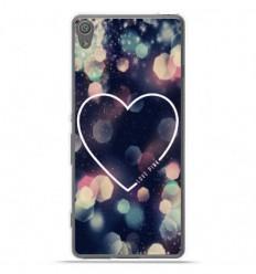 Coque en silicone Sony Xperia XA Ultra - Coeur Love