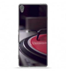 Coque en silicone Sony Xperia XA Ultra - Platine