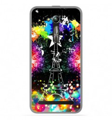 Coque en silicone Asus Zenfone Go ZB500KL - Tour Eiffel