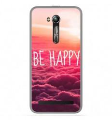 Coque en silicone Asus Zenfone Go ZB500KL - Be Happy nuage