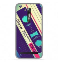 Coque en silicone Asus Zenfone Go ZB500KL - Cassette Vintage