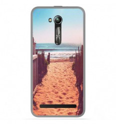 Coque en silicone Asus Zenfone Go ZB500KL - Chemin de plage