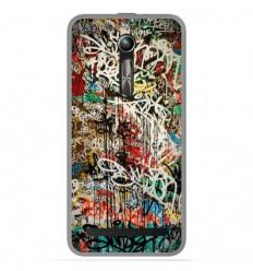 Coque en silicone Asus Zenfone Go ZB500KL - Graffiti 1
