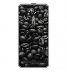 Coque en silicone Asus Zenfone Go ZB500KL - Grains de café