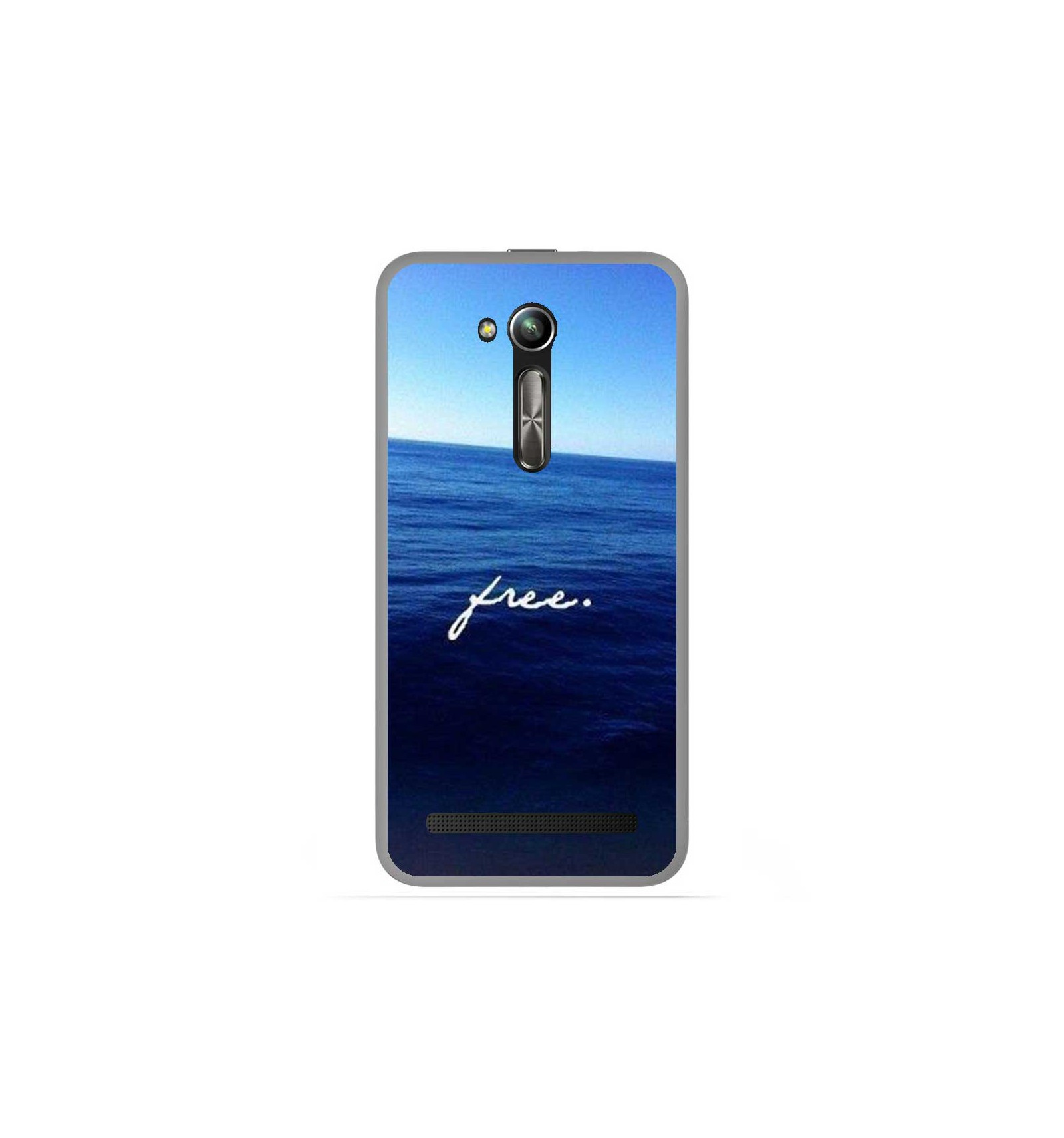Coque En Silicone Asus Zenfone Go Zb500kl Oc 233 An Free