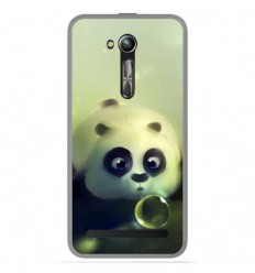 Coque en silicone Asus Zenfone Go ZB500KL - Panda Bubble