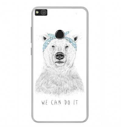Coque en silicone Huawei P8 Lite 2017 - BS We can do it