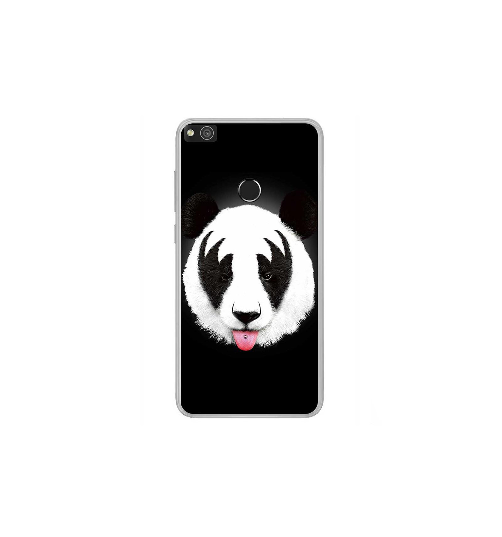 Coque en silicone Huawei P8 Lite 2017 - RF Kiss Of Panda