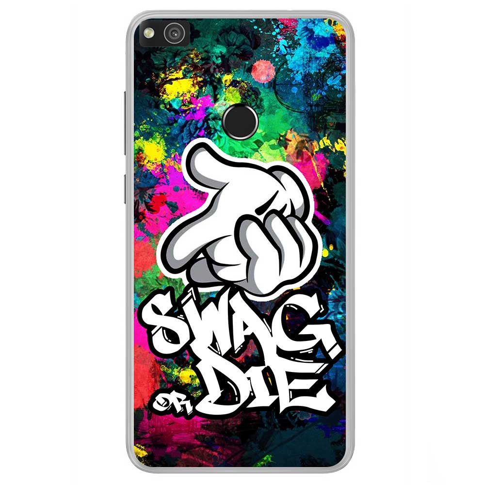 coque huawei p8 swag