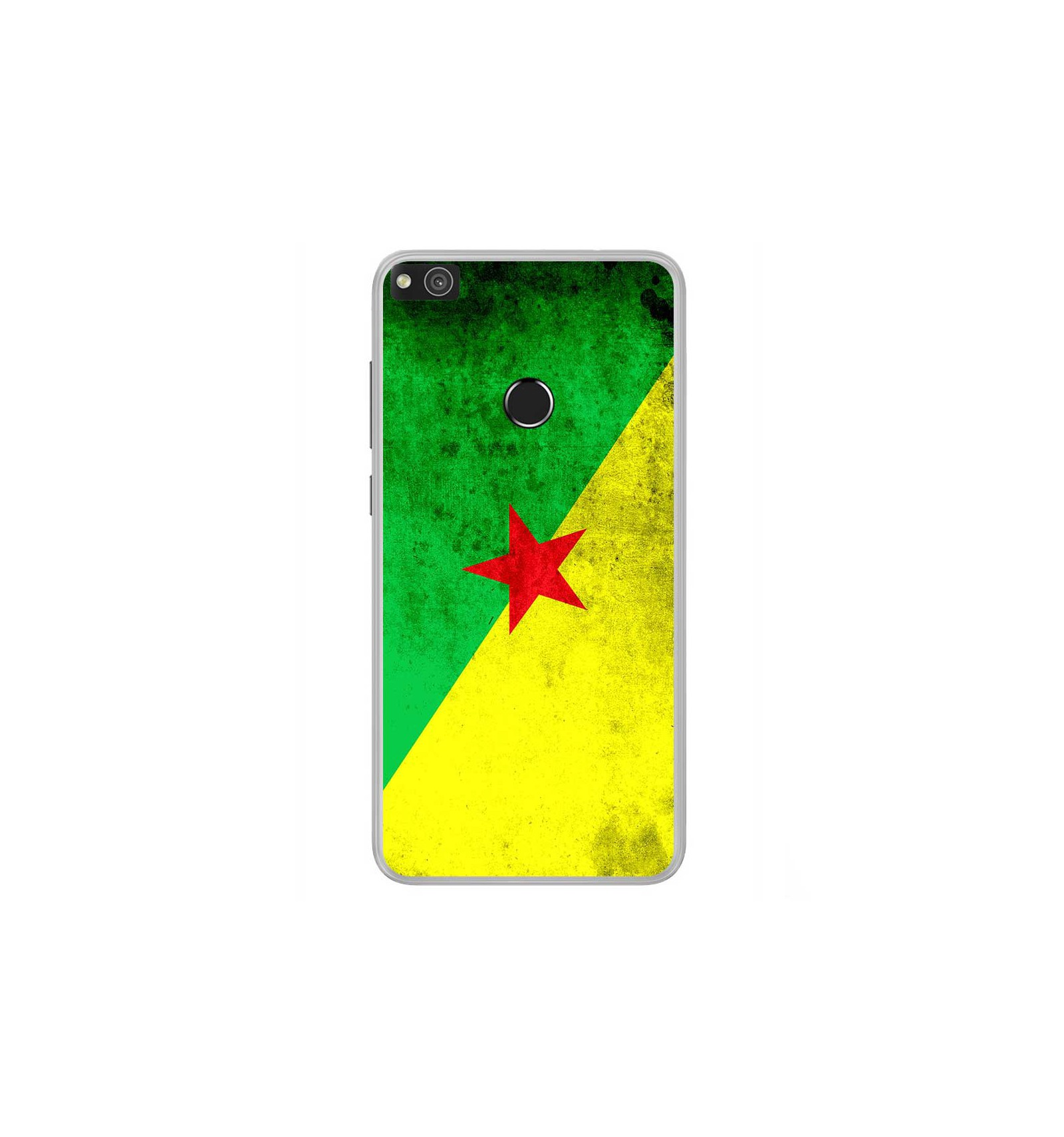 coque huawei p8 lite 2017 drapeau