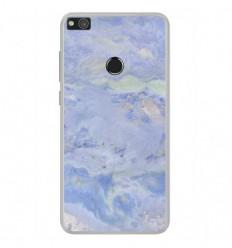 coque huawei p8 lite silicone bleu