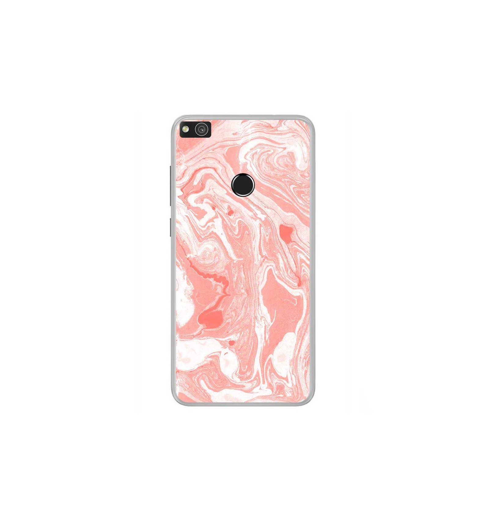 coque silicone rose huawei p8 lite 2017