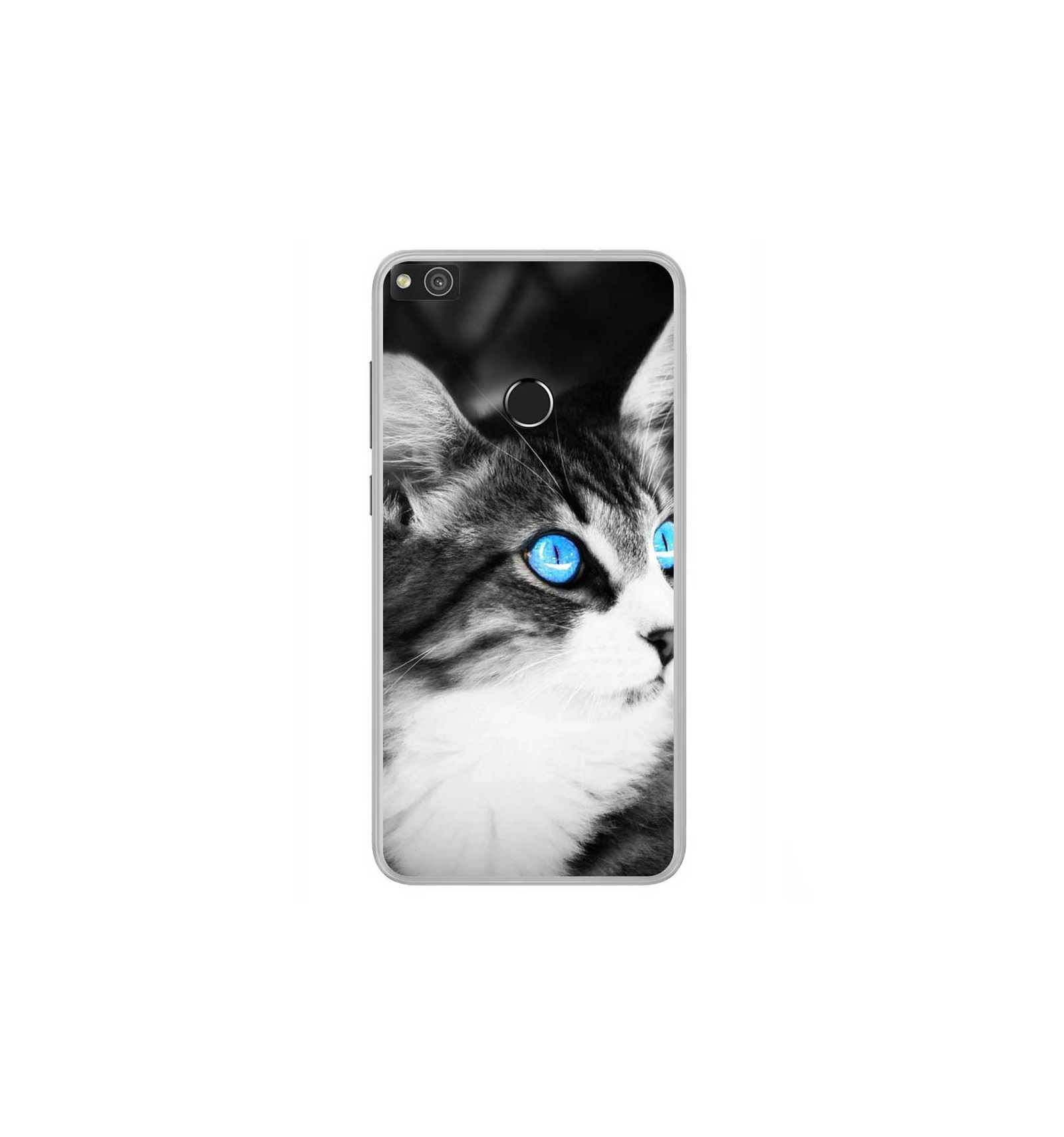 coque huawei p9 lite chat silicon
