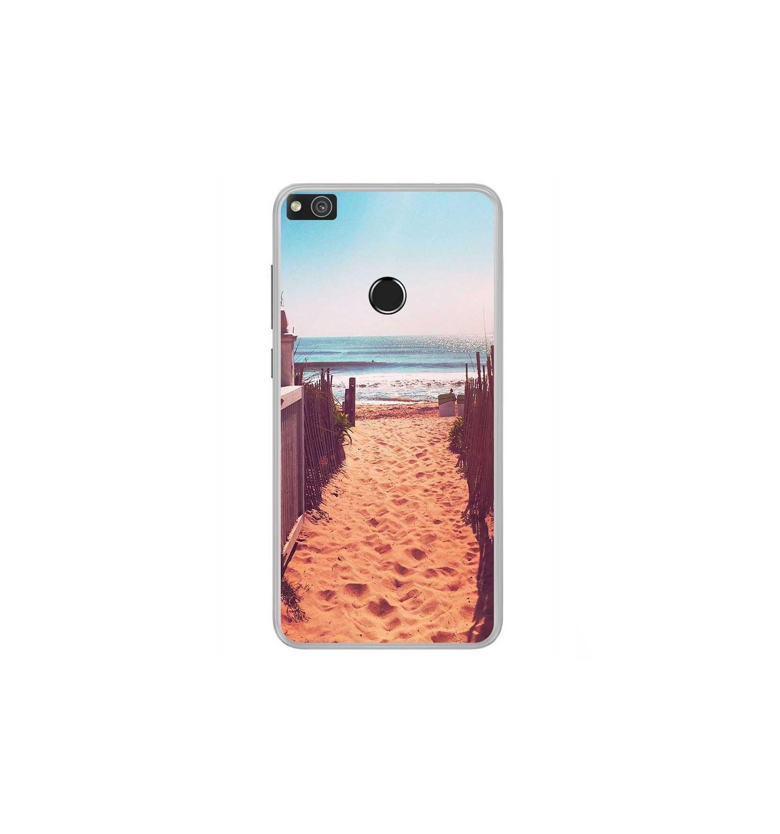 coque p8 lite 2017 huawei plage
