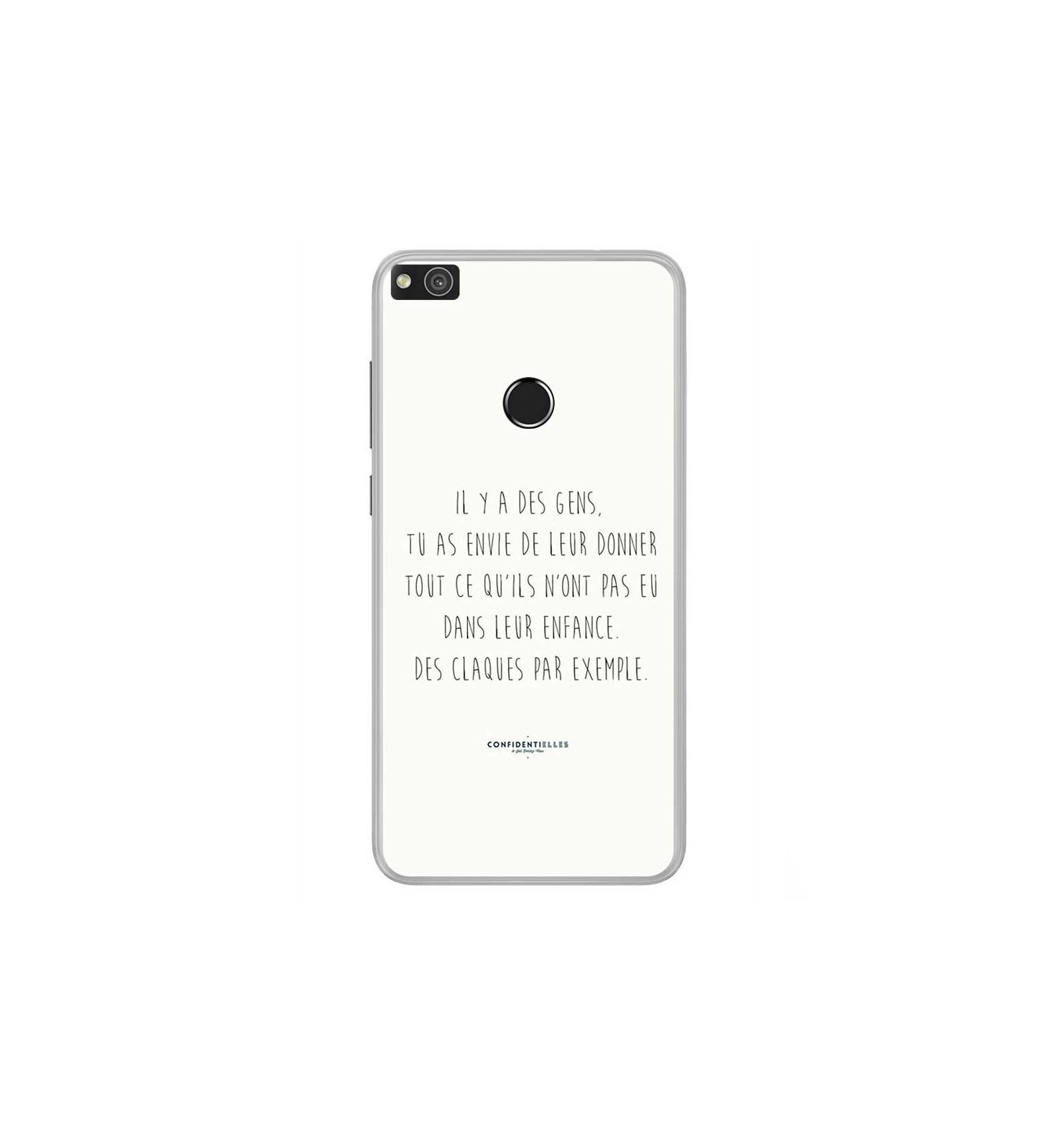 coque huawei p8 lite citation
