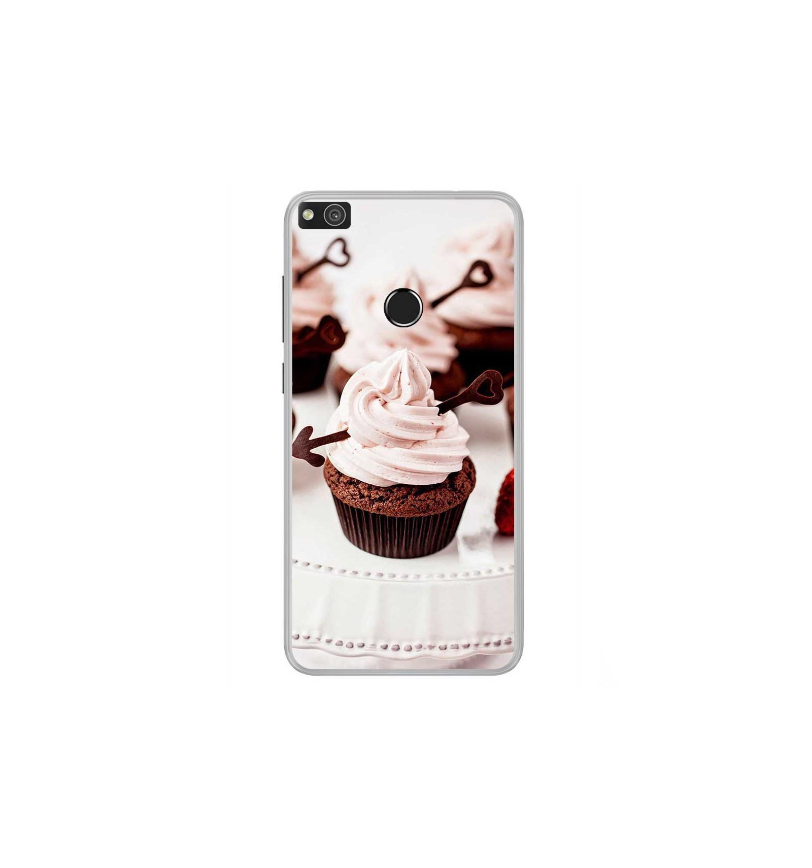 coque huawei p8 lite cupcake
