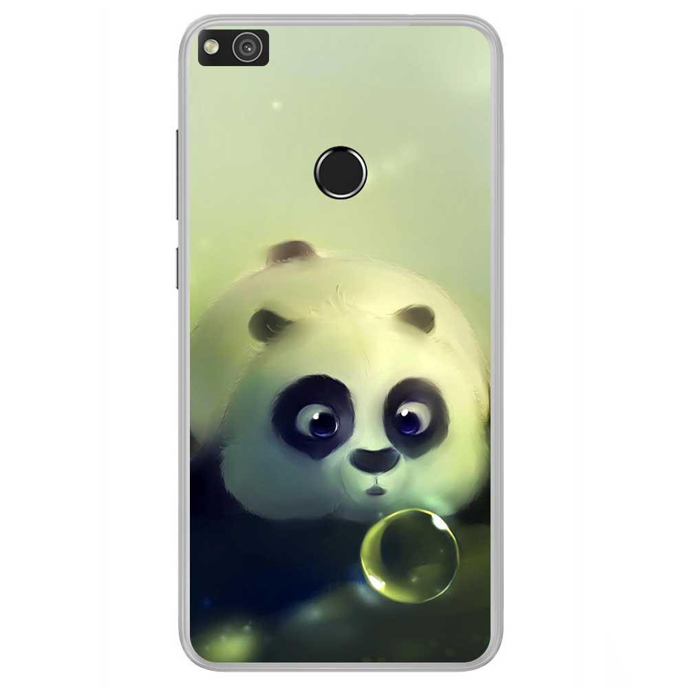 Coque en silicone Huawei P8 Lite 2017 - Panda Bubble