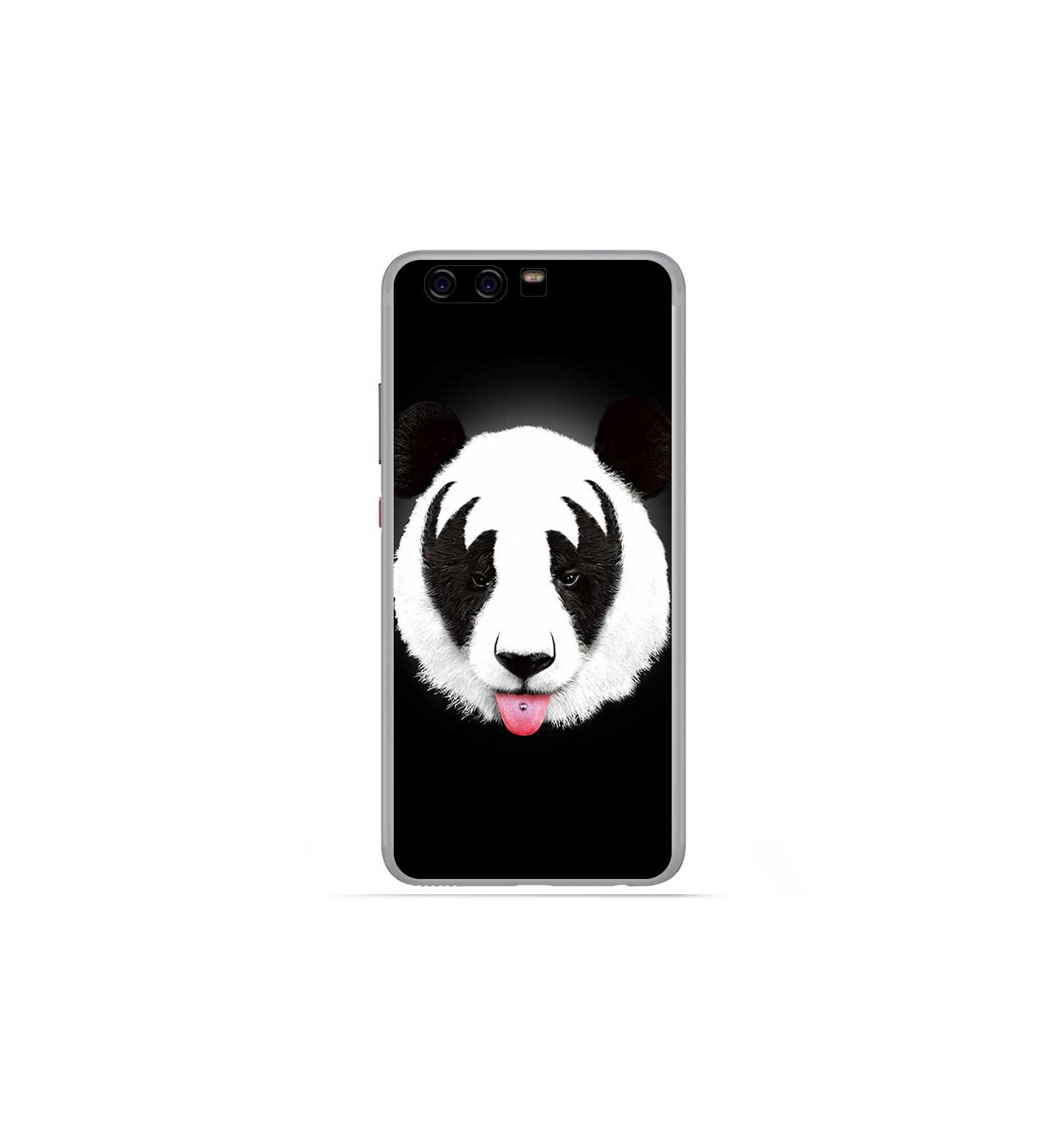 coque silicone huawei p10 panda