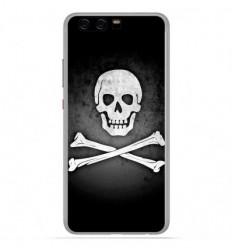 Coque en silicone Huawei P10 - Drapeau Pirate