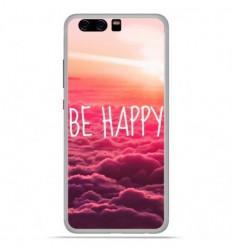 Coque en silicone Huawei P10 - Be Happy nuage