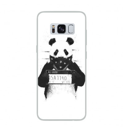 Coque en silicone Samsung Galaxy S8 - BS Bad Panda