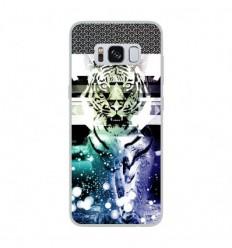 Coque en silicone Samsung Galaxy S8 - Tigre swag