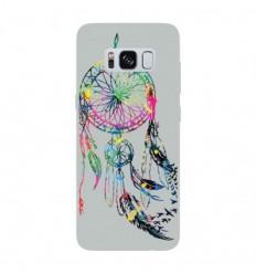 Coque en silicone Samsung Galaxy S8 - Dreamcatcher Gris