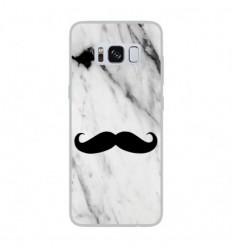 Coque en silicone Samsung Galaxy S8 - Hipster Moustache