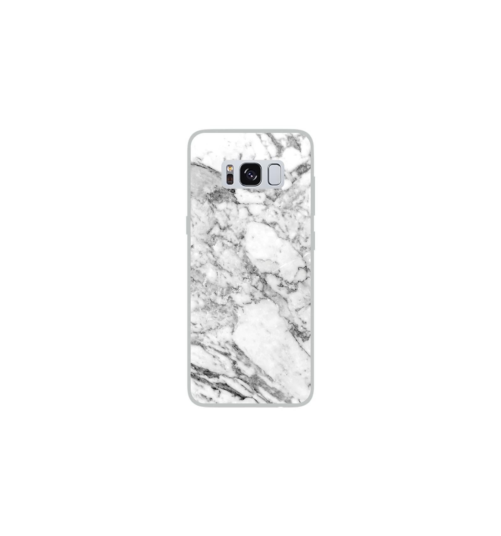 coque galaxy s8 plus marbre