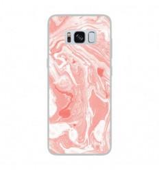 Coque en silicone Samsung Galaxy S8 - Marbre Rose