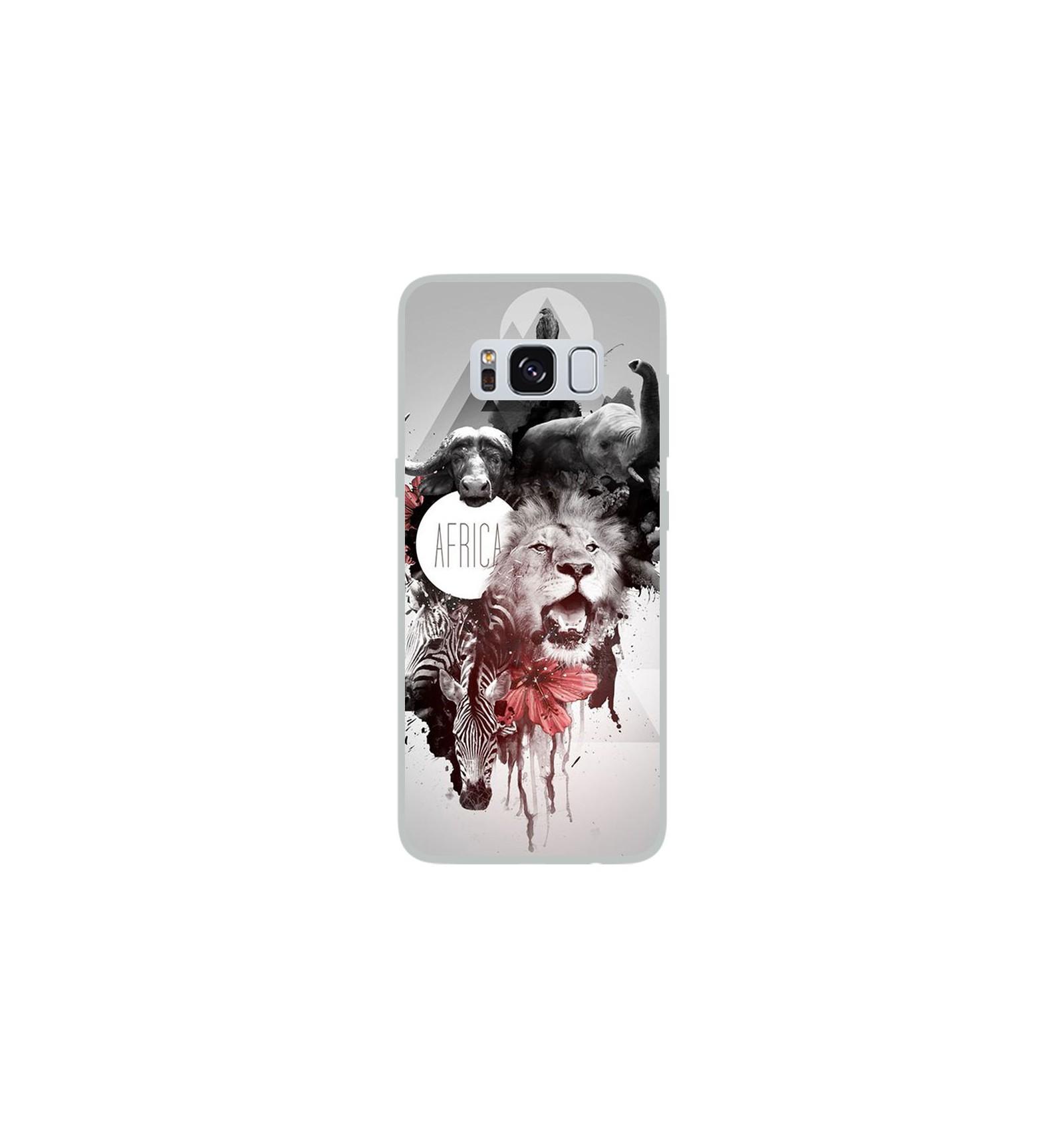 Coque En Silicone Samsung Galaxy S8 Africa Swag