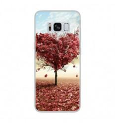 Coque en silicone Samsung Galaxy S8 - Arbre Love
