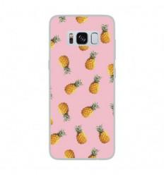 Coque en silicone Samsung Galaxy S8 - Pluie d'ananas