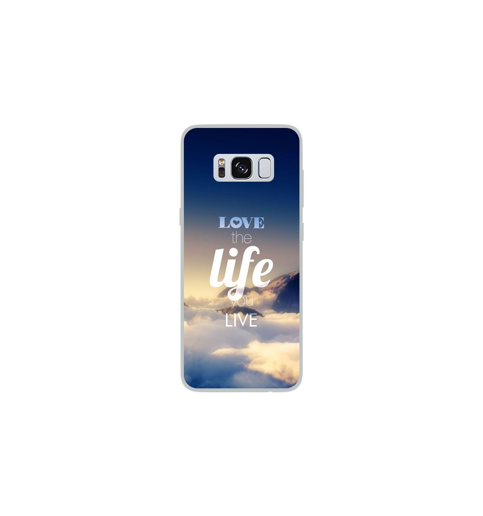 Coque en silicone Samsung Galaxy S8 - Citation 06