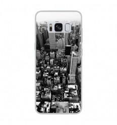 Coque en silicone Samsung Galaxy S8 - City