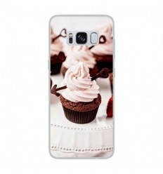 Coque en silicone Samsung Galaxy S8 - Cup Cake
