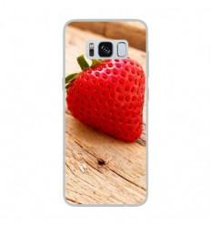 Coque en silicone Samsung Galaxy S8 - Envie d'une fraise