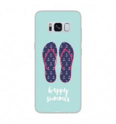 Coque en silicone Samsung Galaxy S8 - Happy summer