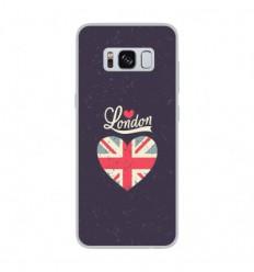 Coque en silicone Samsung Galaxy S8 - I love London