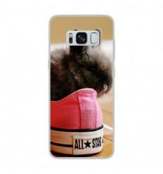 Coque en silicone Samsung Galaxy S8 - Lapin allstar
