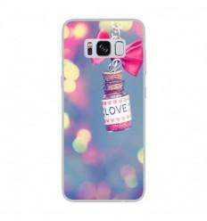 Coque en silicone Samsung Galaxy S8 - Love noeud rose