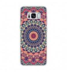 Coque en silicone Samsung Galaxy S8 - Mandalla rose
