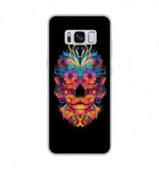 Coque en silicone Samsung Galaxy S8 - Masque carnaval