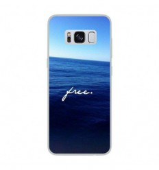 Coque en silicone Samsung Galaxy S8 - Océan free